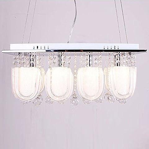 KMDJ Comedor de cristal Apliques Lámparas colgantes luces colgantes Fashion bar pequeño salón se enciende una lámpara