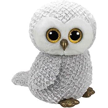 7141d194c7d Ty 36840 Owlette – Glitter Eye Pink Owl White 42 cm – Superb all round  hanger – Great