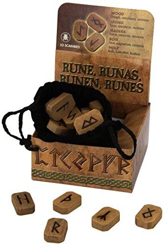 Wooden Runes por Lo Scarabeo