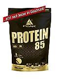 PEAK Protein 85 Chocolate 1000g | Premium Mehrkomponenten Protein mit Aminos | BCAA | EAA | L-Glutamin| L-Arginin | Aspartamfrei | hoher Proteinanteil von bis zu 84% | Proteinshake für Bodybuilding, Kraftsport und Fitness | Eiweißpulver | Neue verbesserte Version