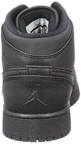 Nike Jungen 554725-044 Basketballschuhe Schwarz