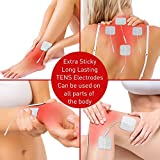 Med-Fit 1 Tens pads - 12 pads - 3 packs of 4 self Adhesive pads long lasting pads for Tens Machines