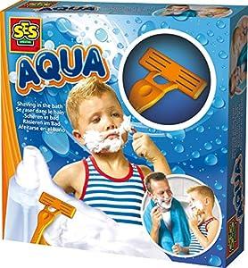 AQUA-Afeitarse en el baño SES, Multicolor 13029