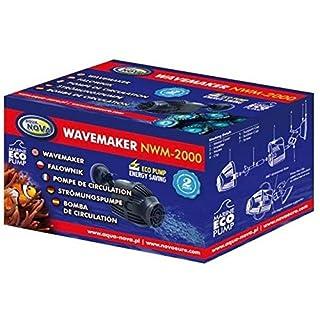 Aqua Nova NWM-2000 L/H Wavemaker for Aquarium - inverter for marine & freshwater fish tank water pump powerhead