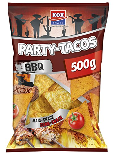 XOX Party Tacos Barbecue, 3er Pack (3 x 500 g)