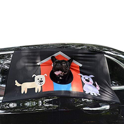 PAWACA - Parasol Plegable para Coche para Mascotas
