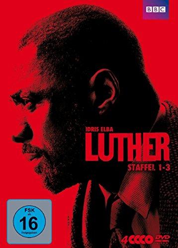 Elba Serie (Luther - Staffel 1-3 [4 DVDs])