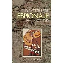 ESPIONAJE (España 1936-1939)