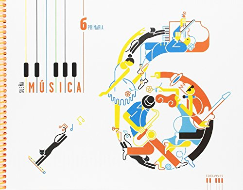 Música 6º primaria: (libro + cuaderno) (sueña música)