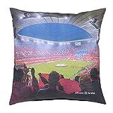 FC Bayern Kissen rot/schwarz Größe 40x40 cm