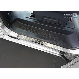 Autostyle 2/16302 Edelstahl Einstiegsleisten Silber