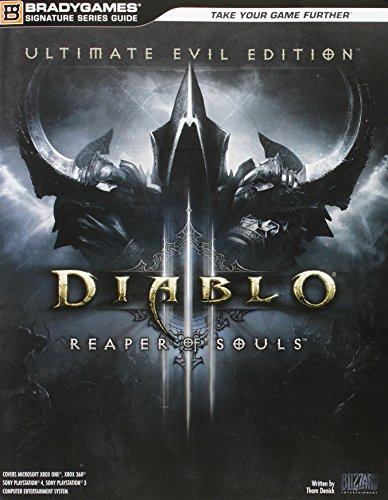 Diablo III: Reaper of Souls Ultimate Evil Edition Signature Series Strategy Guide