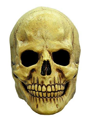Totenkopf Maske des Grauens zum Horror Schädel Skelett Halloween