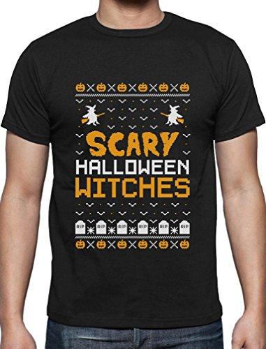 Scary Halloween Witches - Im Ugly X-Mas Style T-Shirt XXXX-Large Schwarz