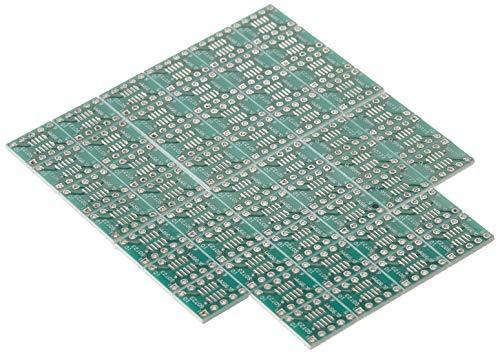 sourcing map 50pcs 0.95mm 0.5mm SOT23/SOP10 bis 2,54 mm DIP23 DIP10 SMD IC PCB Adapter Soc DE de Ic-adapter