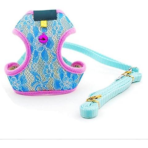 Forniture per PET guinzagli dell'animale domestico cane corda guinzaglio imbracature , blue , s - Canine Controllo Del Peso