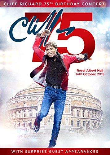 Preisvergleich Produktbild Cliff Richard's 75th Birthday Concert Performed at The Royal Albert Hall [DVD] by Cliff Richard