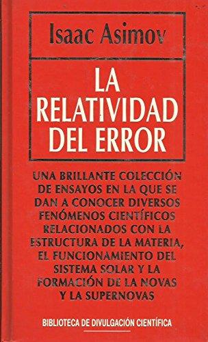 La Relatividad Del Error
