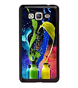 printtech Bottle Color Splash Back Case Cover for Samsung Galaxy Grand Prime G530h