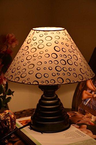 CIRCULAR GROOVE TABLE LAMP