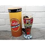 Pub Crawl–Lolita pintado a mano vaso de cerveza