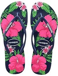 Havaianas Slim Floral - Sandalias Mujer