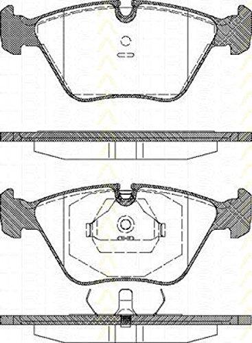 Preisvergleich Produktbild Triscan 8110 10001 Bremsbelagsatz, Scheibenbremse - (4-teilig)