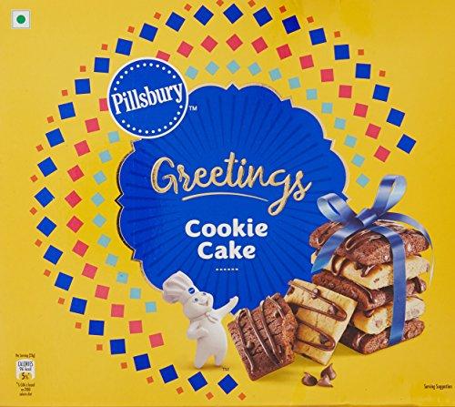 Pillsbury Cookie Cake Greeting Pack, 276g (12 Single Packs Inside) 51RcYfgWLfL