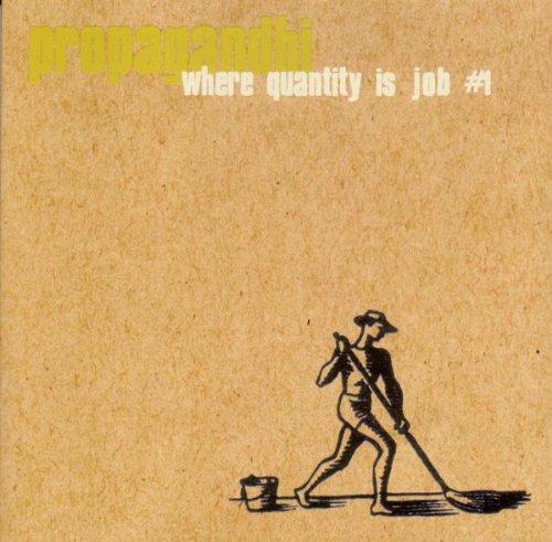 Where Quantity Is Job No 1