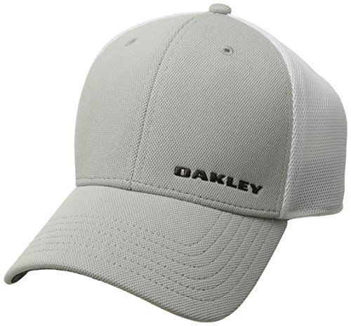 Oakley Silicon Bark Trucker 4.0 Cap, Grey, L/XL