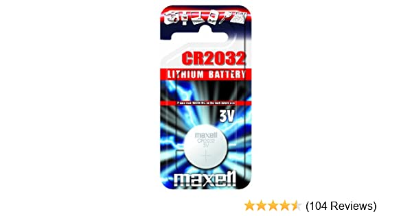 Knopfzelle Batterie Neu Original Hitachi Maxell 10 X CR2032 3V Lithium Knöpfe