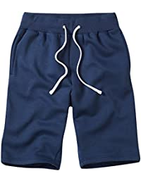 Charles Wilson Men's Essential Plain Jersey Jogger Shorts