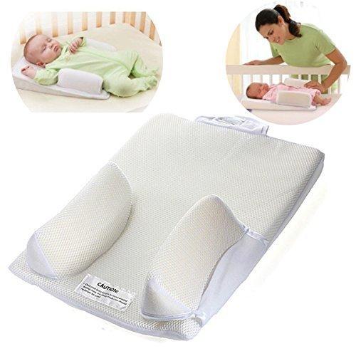 Baby Sleep Positioner Pillow Anti Roll Sleeping Mat Safe Head Back Waist Support(1PC)