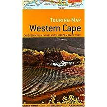 Touring map Western Cape: Cape Peninsula, Winelands, Garden Route to PE