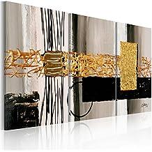 murando Cuadro pintado a mano -100% pintados a mano – fotos directamente del artista - pintura - pinturas de paredes modernas - disenos únicos e irrepetibles – cuadro en lienzo - tríptico 3 partes - abstracción - 92318 - 120x60 cm