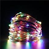 TAOtTAO Led String Lichter Dekorative Schlafzimmer Terrasse Gartentor Hof Parteien Hochzeit (Mehrfarbig)
