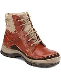tZaro Genuine Leather CAPZ8601Tan Boots