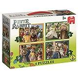 Jumbo Peter Rabbit 19476 4in1 Jigsaw Puzzle Box Set
