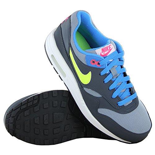 Nike Air Max 90 Mesh (Gs) Scarpe da ginnastica, bambini Gris
