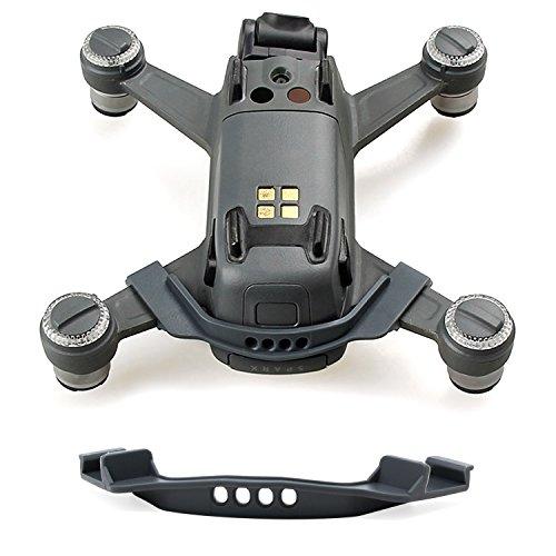 KEESIN Batterie Anti-lose Schnalle Clip-Halter Batterie Anti-Shedding Schnalle Abdeckung für DJI Spark Drone (Grau)