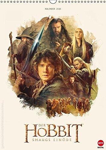 Der Hobbit - Smaugs Einöde (Wandkalender 2016 DIN A3 hoch): Ein Muss für alle Mittelerde-Fans! (Monatskalender, 14 Seiten) (Calvendo Spaß) (CALVENDO Spass)