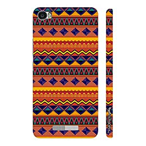 Enthopia Designer Hardshell Case Indian Mat Back Cover for Lava Iris X8