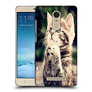 Snoogg Cat Praying Printed Protective Phone Back Case Cover For Xiaomi Redmi Note 3