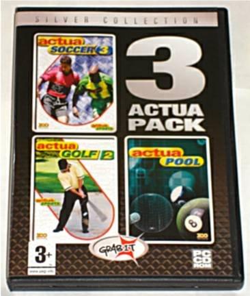 3 Actua Pack: Actua Soccer 3, Actua Golf 2 & Actua Pool