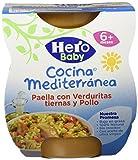 Hero Baby Cocina Mediterránea Paella Con Verduritas Tiernas Y Pollo - 400 g