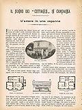 Scarica Libro IL SOGNO DEI COTTAGES IN CAMPAGNA L AMORE IN UNA CAPANNA 1905 (PDF,EPUB,MOBI) Online Italiano Gratis
