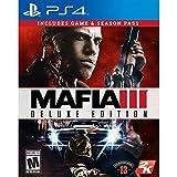 Mafia 3 - Deluxe Edition pour PS4 UK multi inkl.SeasonPass [Import anglais]
