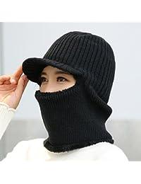 Cappello unisex dell orecchio bizzarro Cappellino invernale ispessimento  caldo maglieria esterna per le signore  fb0f463ea8ae