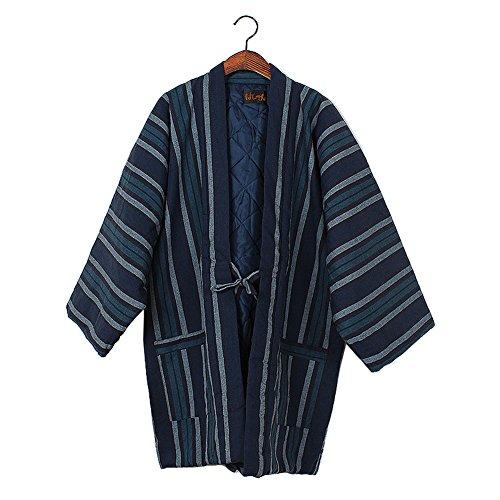 Unisex Japanische Kimono Weste Winter Verdicken Weste Startseite Kleidung # 01 (Japanische Kleidung Kimono)
