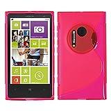 Nokia Lumia 1020 Étui HCN PHONE S-Line TPU Gel Silicone Coque souple pour Nokia Lumia 1020 - ROSE